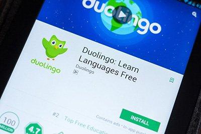 Duolingo es actualmente la app más descargada en la categoría Educación para teléfonos Android.